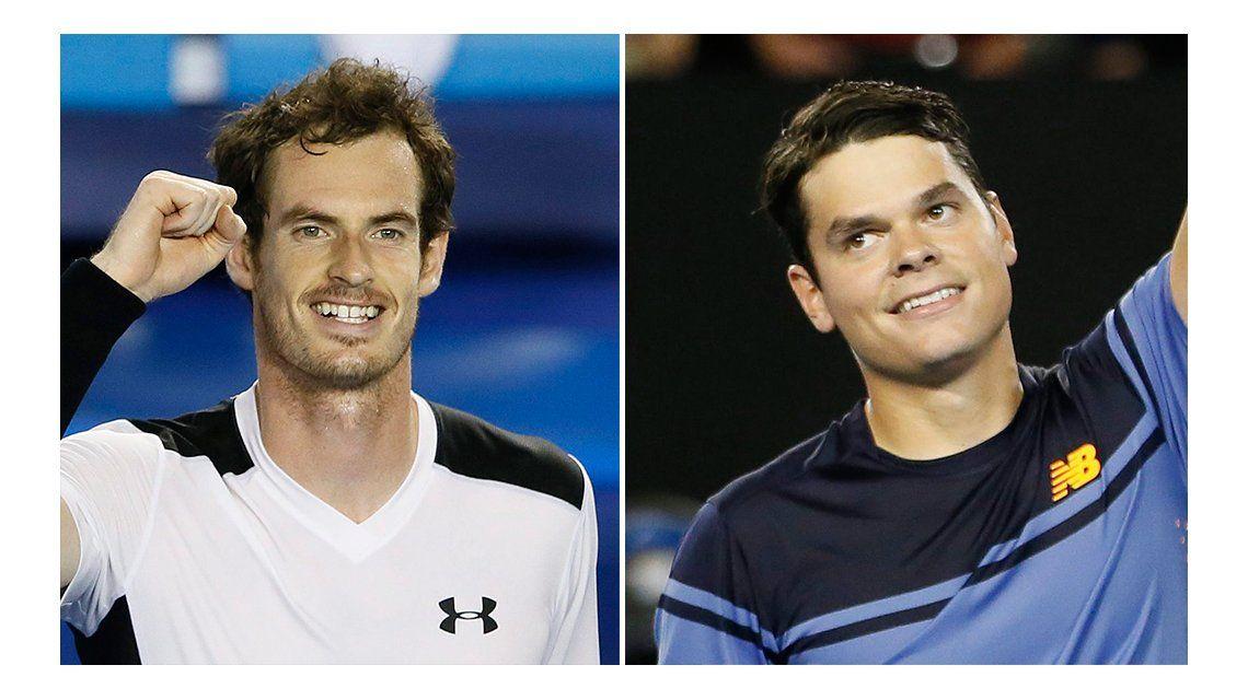 Murray y un tapado, los otros semifinalistas del Abierto de Australia