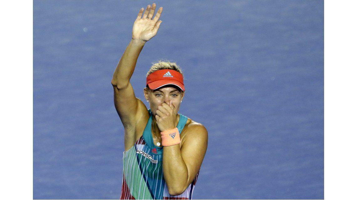 Batacazo en Melbourne: Kerber venció a Serena Williams en la final