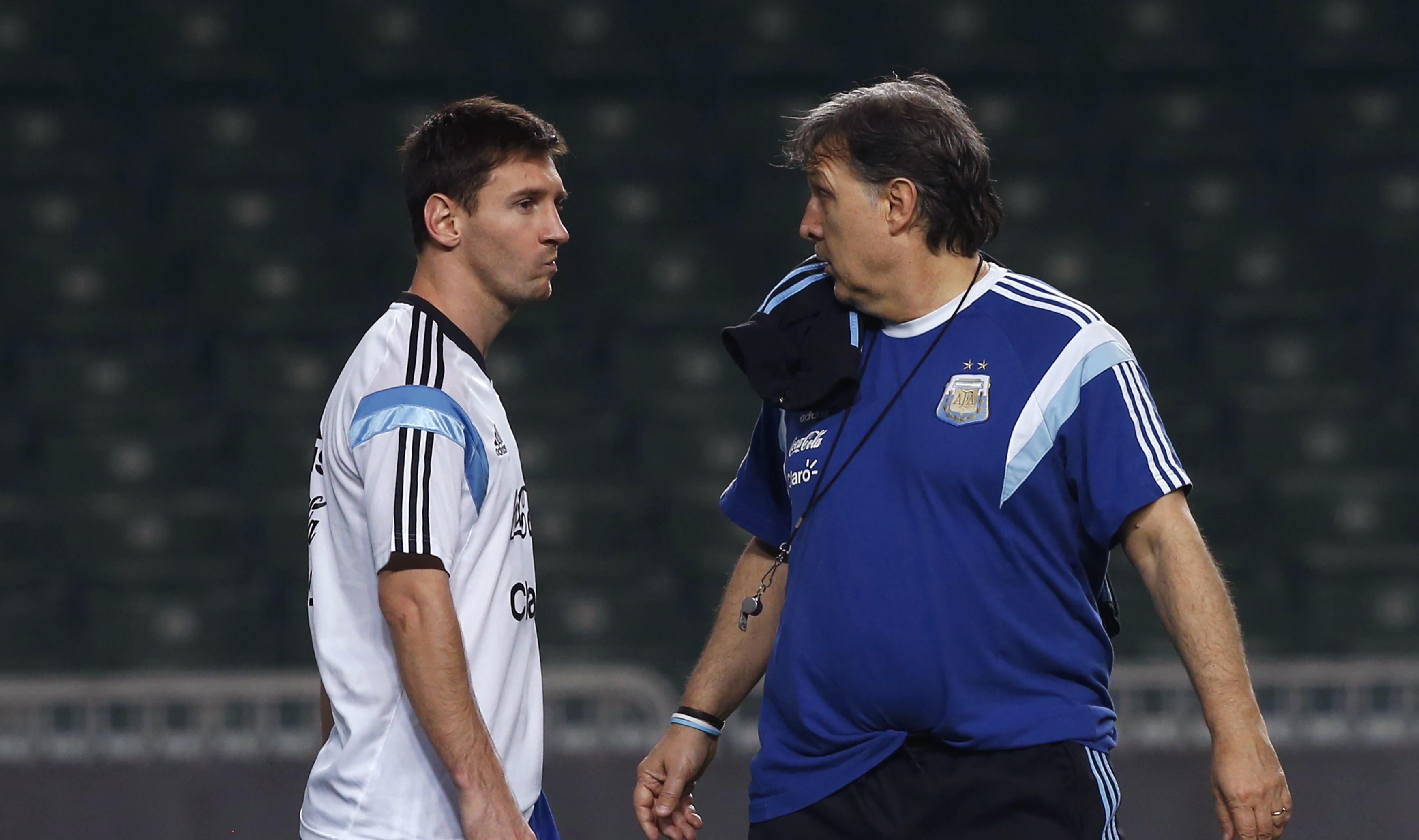 Martino: Lionel Messi no va a ir a los Juegos Olímpicos
