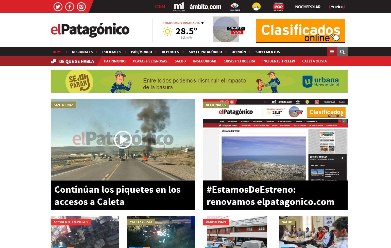 El Patagónico se renueva y te muestra en vivo Comodoro Rivadavia