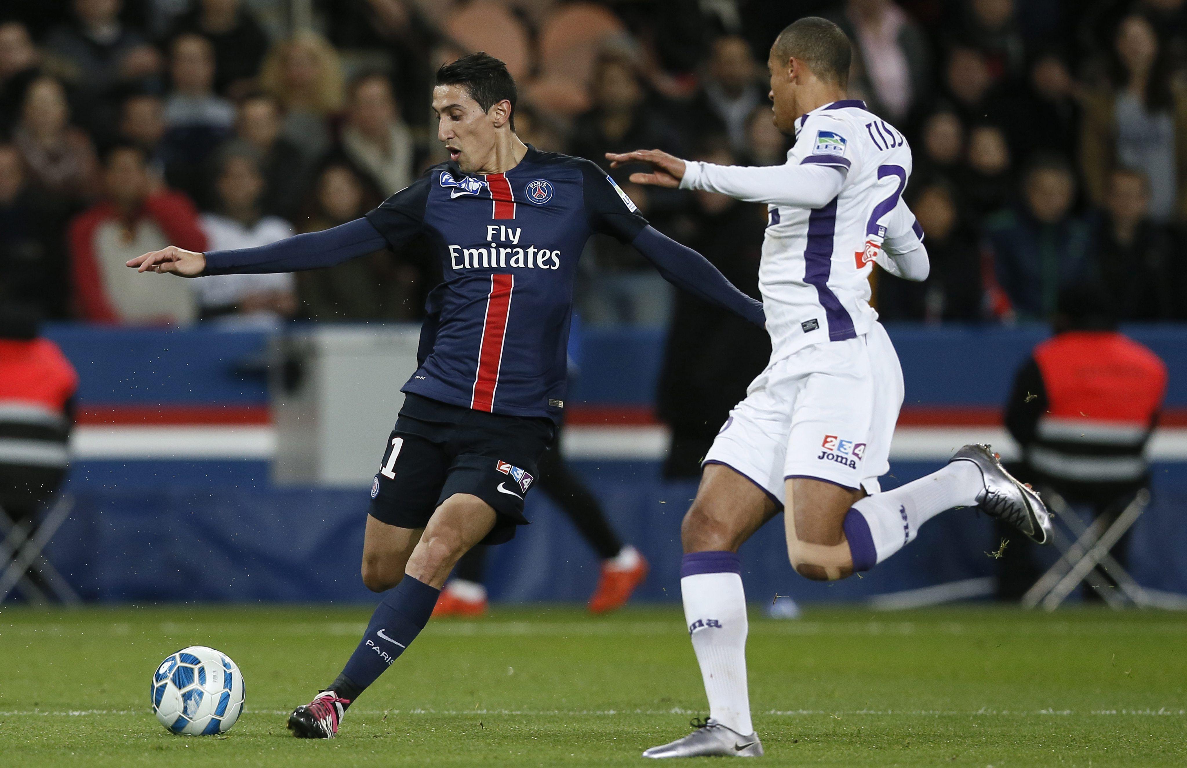 Lavezzi y Di María marcaron goles para que el PSG pase a la final de la Copa de Francia