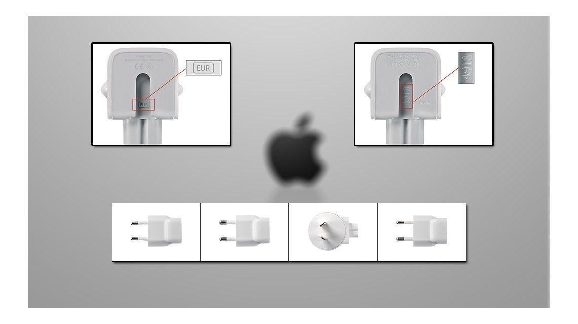 Apple saca cargadores por riesgo de electrocución en Argentina y otros países
