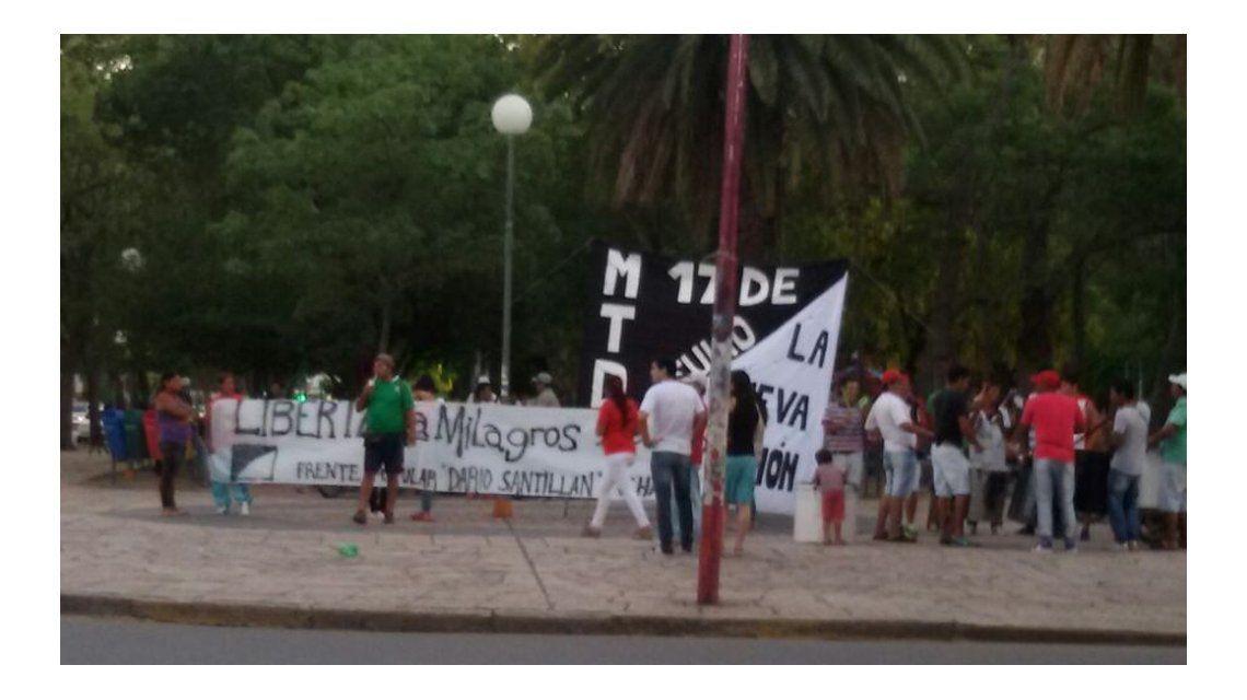 Agrupaciones kirchneristas y de izquierda marcharon por la liberación de Milagro Sala