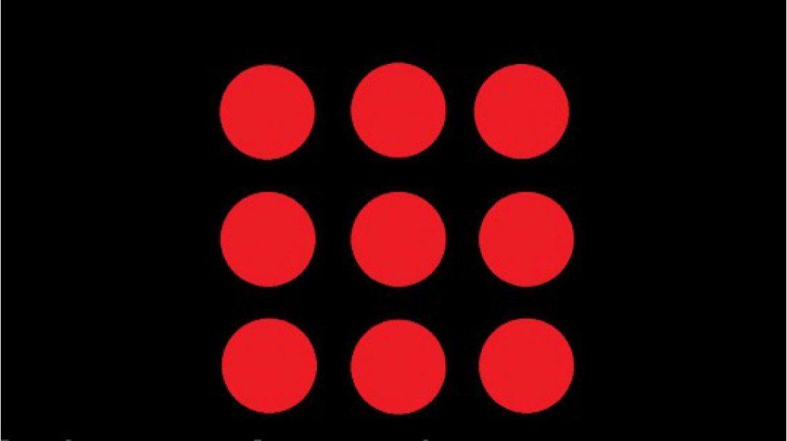 Un desafío que es viral: ¿podés conectar todos los puntos usando cuatro líneas rectas?