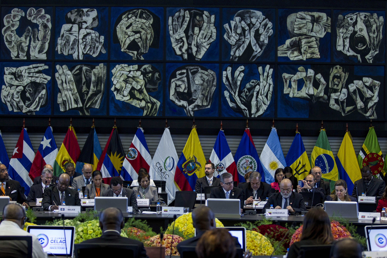 Michetti inició su participación en la cumbre de la Celac en Quito