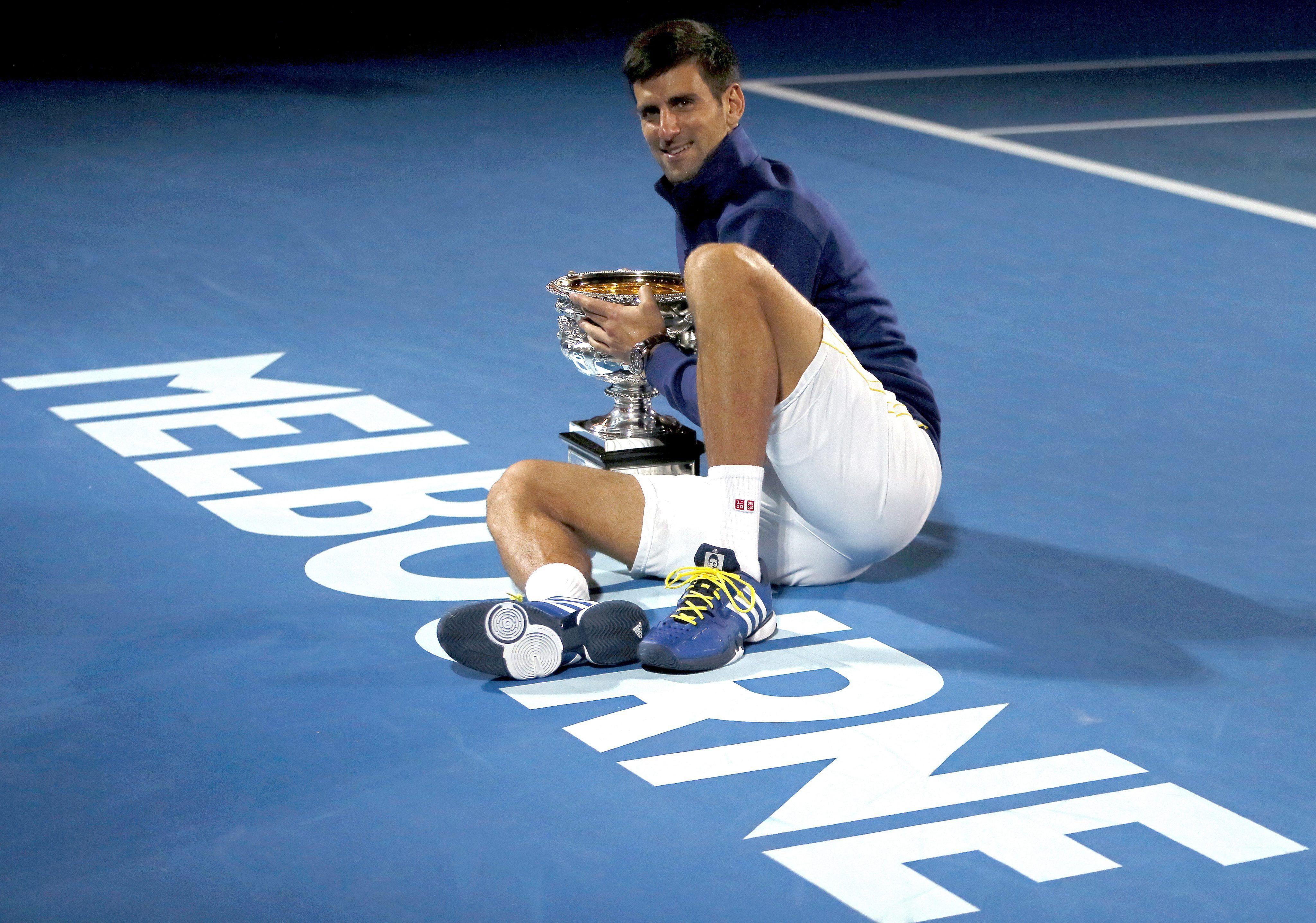 Rey absoluto: Novak Djokovic venció a Murray para coronarse en Australia