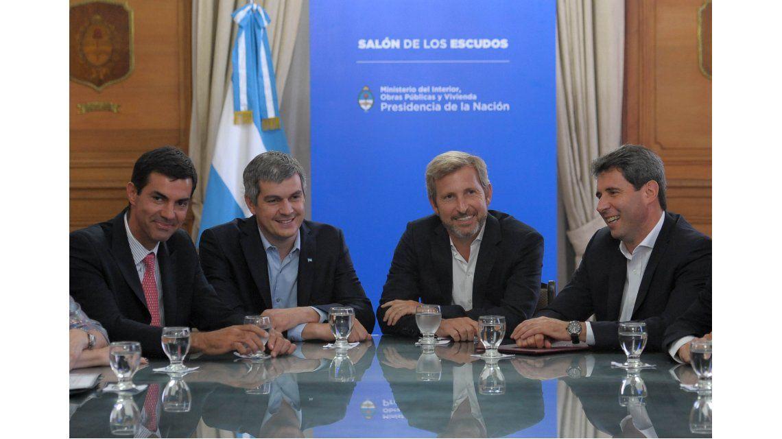 Para Urtubey y Uñac, la reunión con el Gobierno fue un buen primer paso