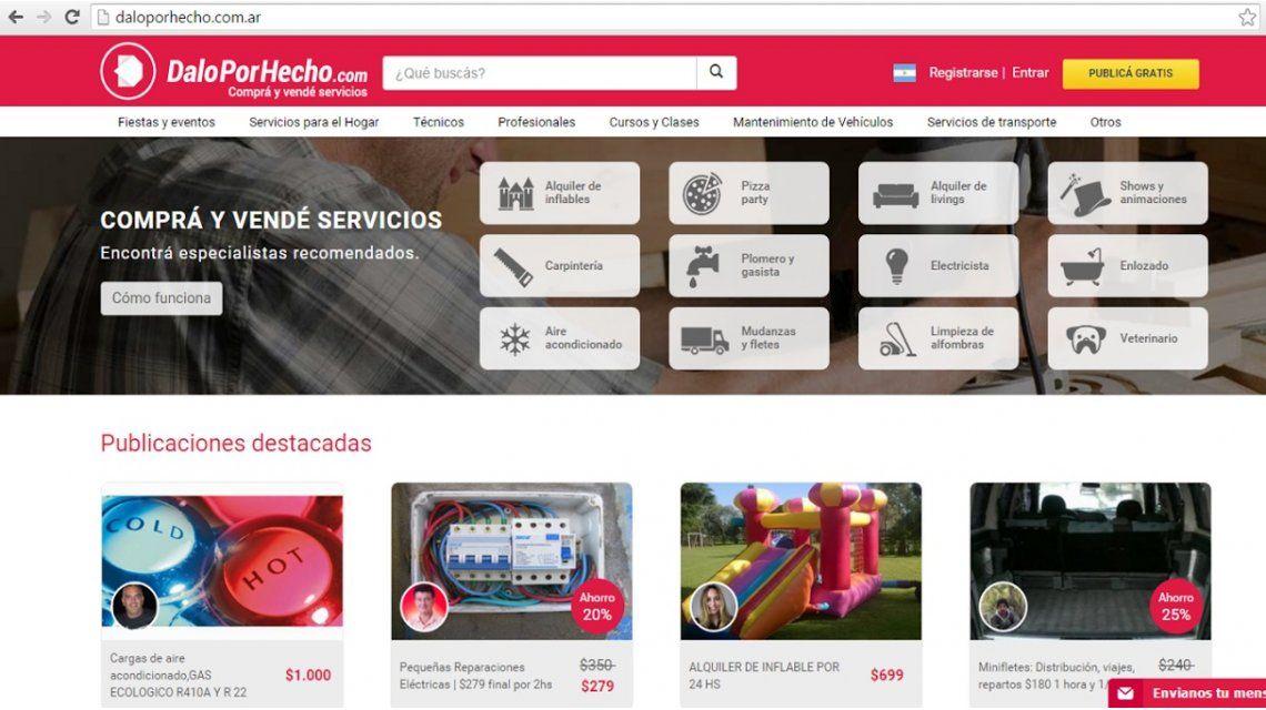 La app argentina con la que se puede pedir cualquier cosa cumple 1 año