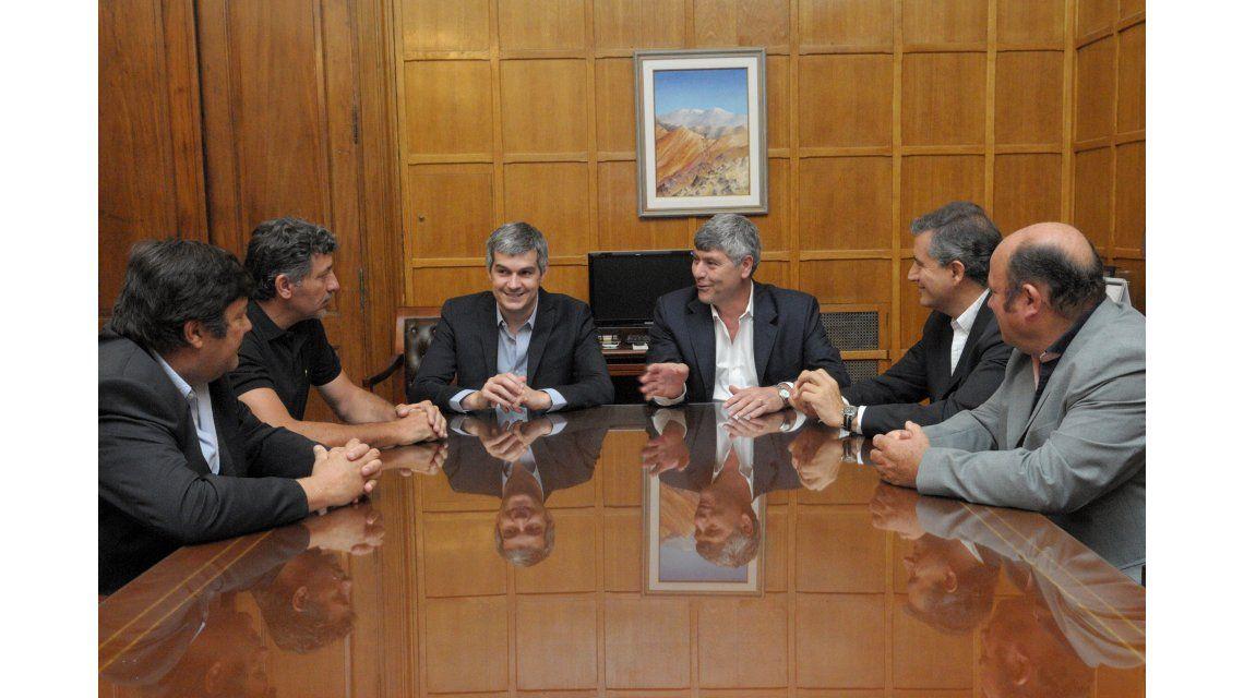 El Gobierno recibió a la Mesa de Enlace: Hoy volvió el diálogo, dijo Buryaile