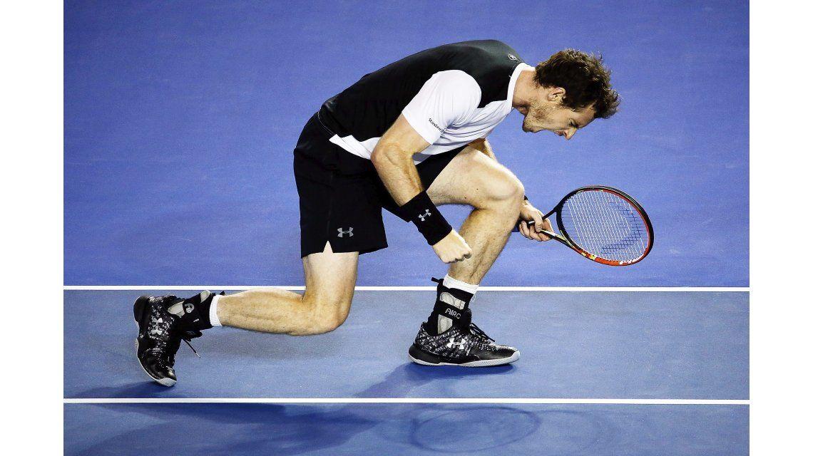 Murray batalló con Raonic y definirá el Abierto de Australia ante Djokovic