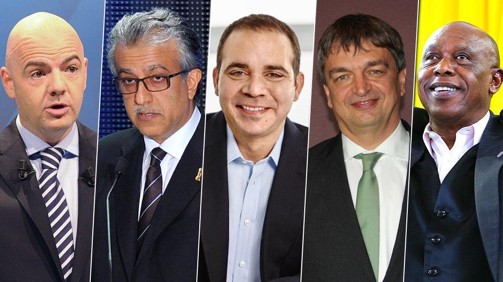 Estos son los cinco candidatos a suceder a Joseph Blatter en la FIFA