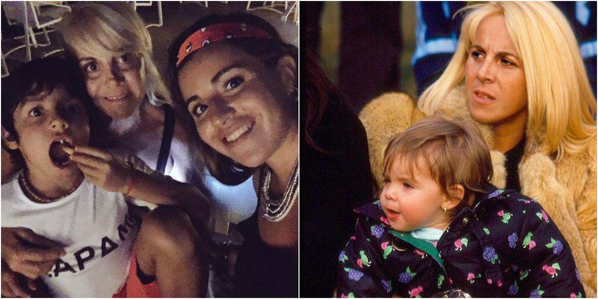 Foto retro y emotivos mensajes por el cumpleaños de Claudia Villafañe