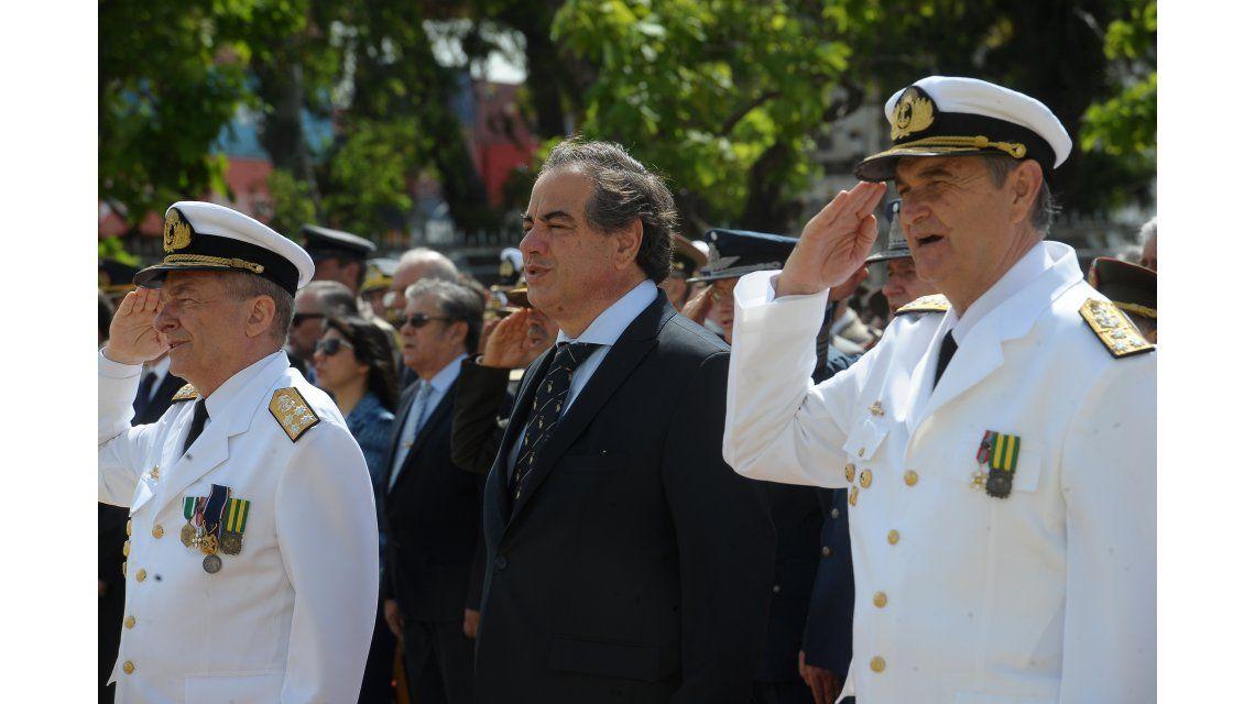 Tomaron juramento el nuevos jefes de la Armada y del Ejército