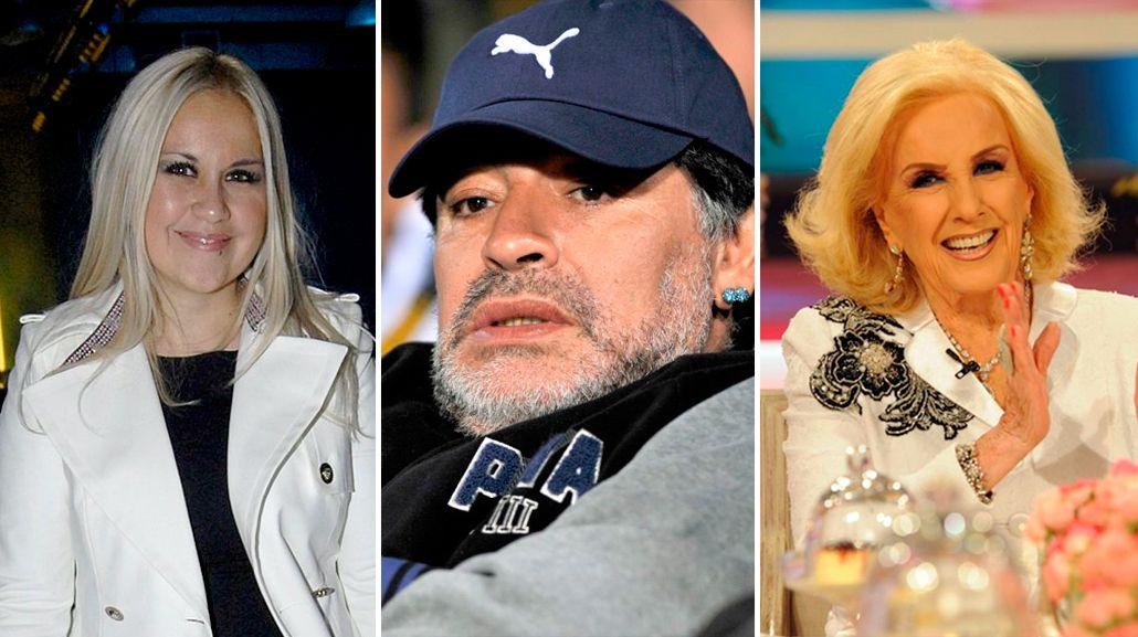 Verónica Ojeda, con mordaza legal para hablar de la intimidad con Maradona en lo de Mirtha