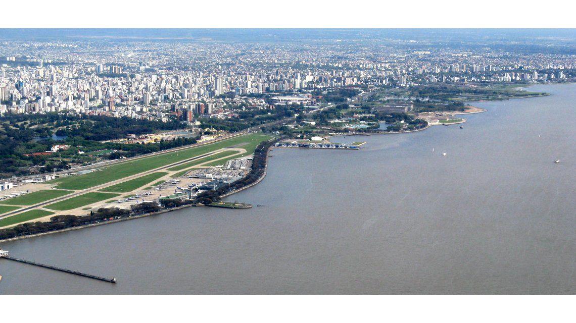 Emiten un alerta por la crecida del Río de La Plata en las costas del AMBA y La Plata