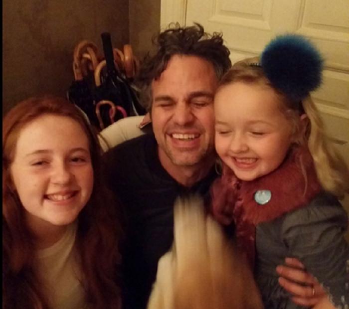 La increíble historia de Mark Ruffalo con dos nenas que hallaron su billetera en Nueva York