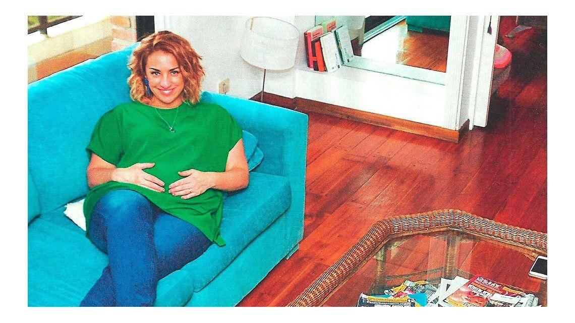 María Julia Oliván, en su sexto mes de embarazo: Fue un milagro