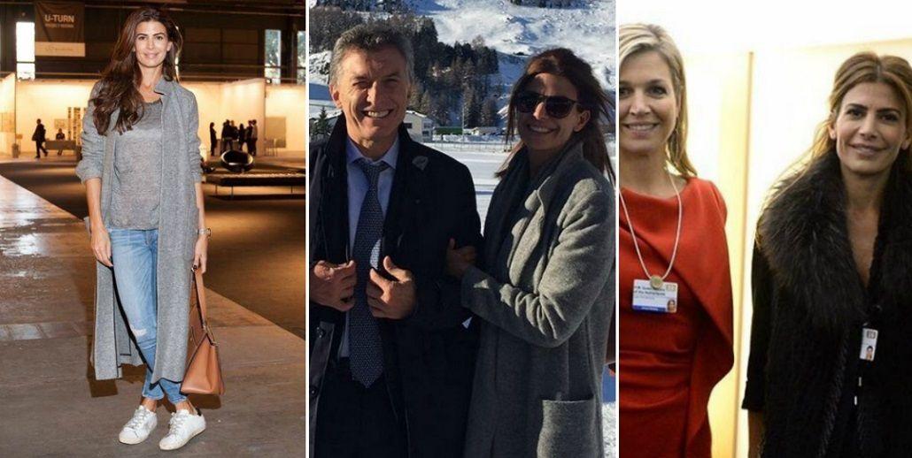 Juliana Awada y Máxima Zorreguieta, las argentinas que cautivaron Davos: mirá sus looks