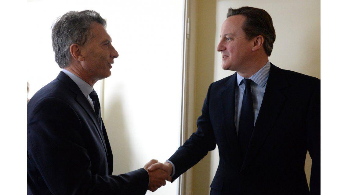Los detalles de la reunión entre Macri y Cameron
