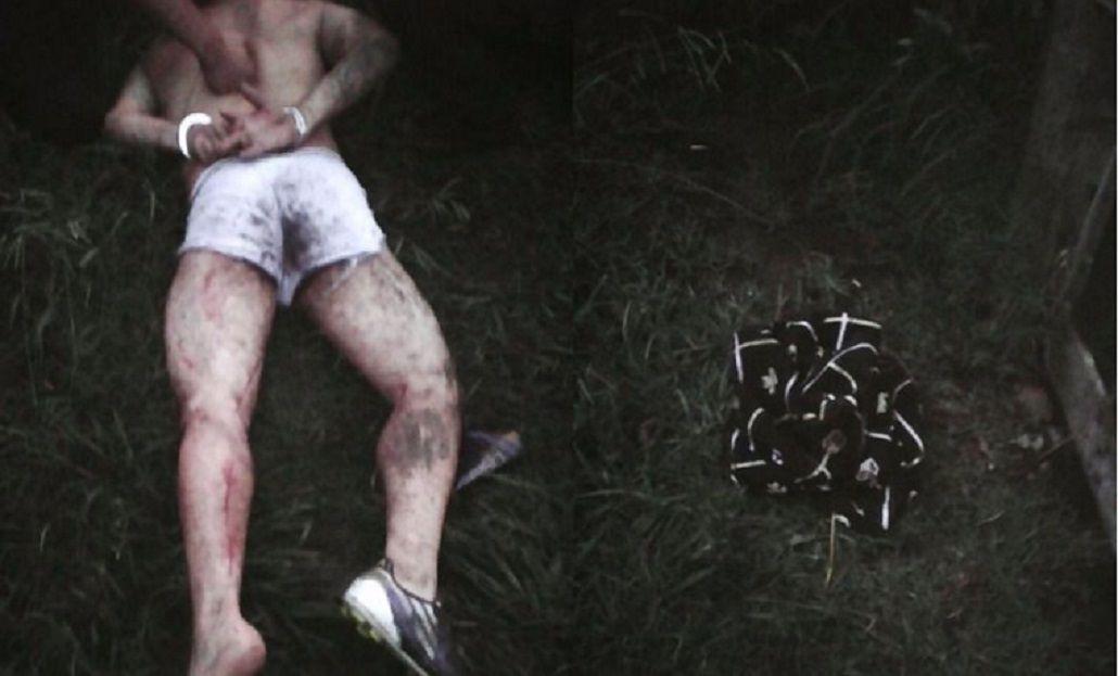 Un ladrón perdió los pantalones cuando escapaba y lo atraparon en calzoncillos