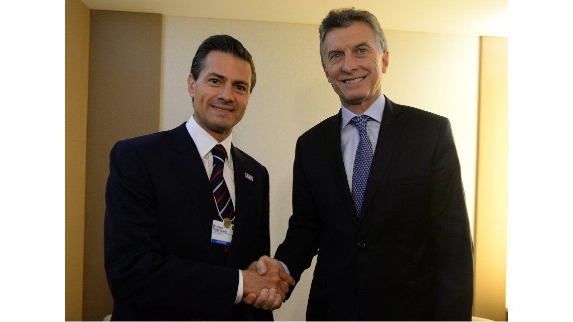 Peña Nieto viajará a Argentina y se reunirá con Mauricio Macri a fines de julio