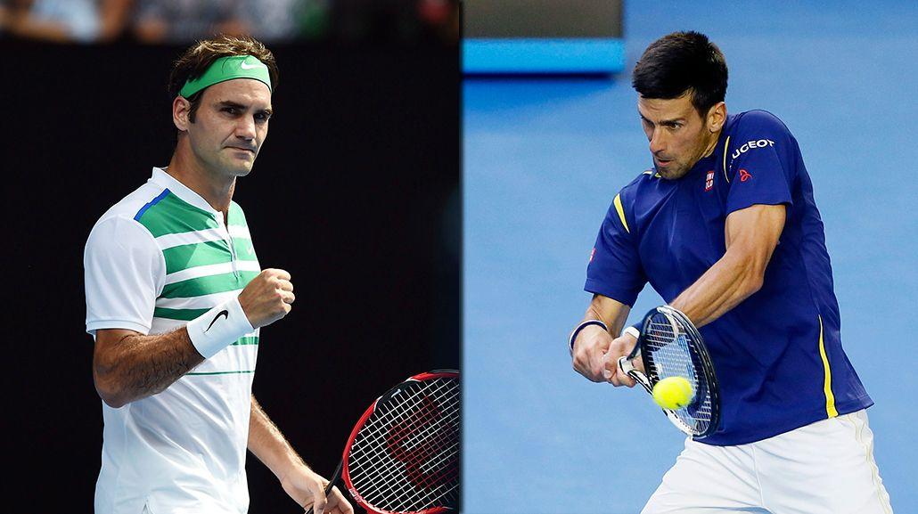 De lujo: Federer y Djokovic jugarán una de las semifinales en Australia