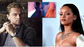 Leo Dicaprio y Rihanna fueron escrachados a los besos