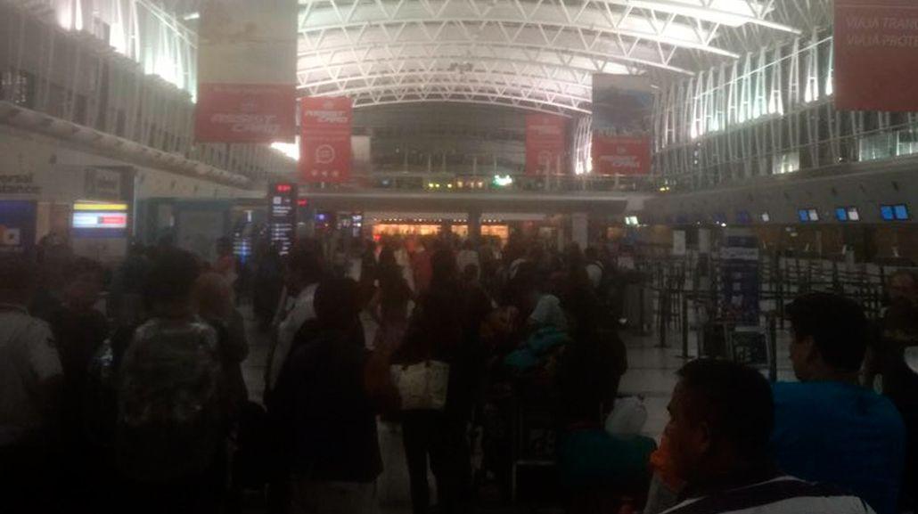 Un conflicto gremial paraliza los vuelos internacionales de LAN en Ezeiza