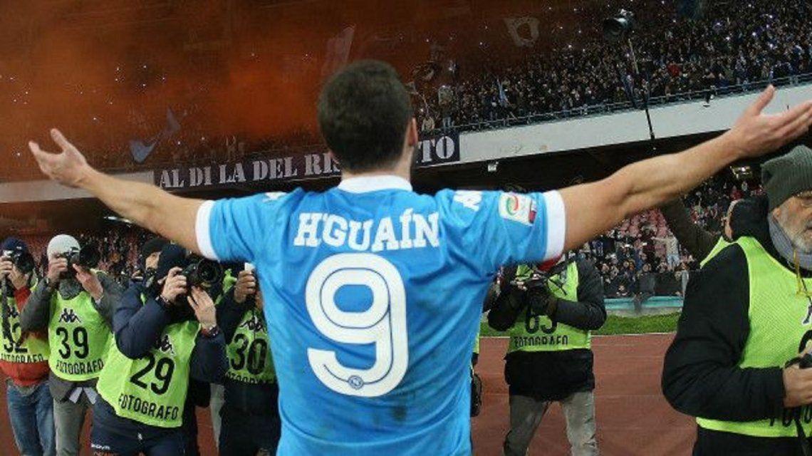 La dieta que ayudó a convertir a Higuaín en el máximo goleador del fútbol europeo