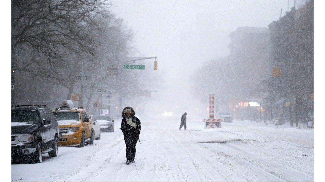 Cancelan todos los viajes a Nueva York por la tormenta de nieve Jonas