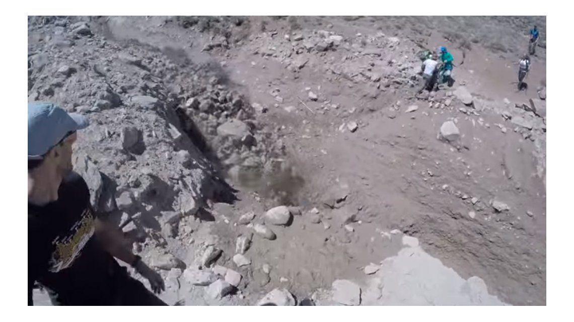 VIDEO: Así vivió un alud un grupo de turistas que hacía trekking en el Aconcagua