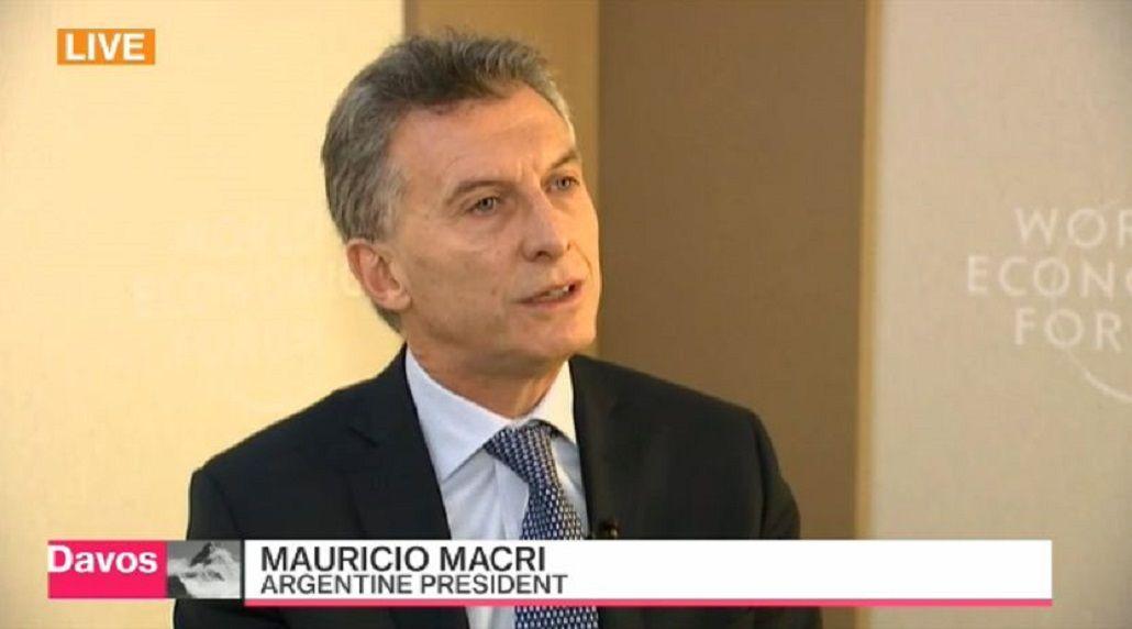 Macri dio en inglés una entrevista a una importante agencia de noticias económicas