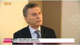 Macri dio en inglés una entrevista a una agencia de noticias económicas