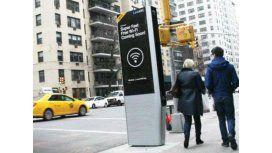 Nueva York reemplaza los teléfonos públicos por estaciones de WiFi