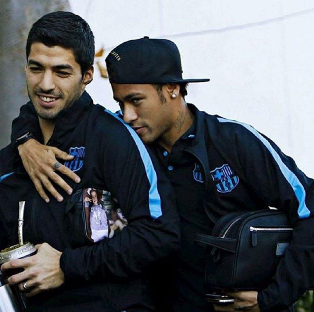 Neymar y su cariñoso saludo por el cumpleaños de Luis Suárez