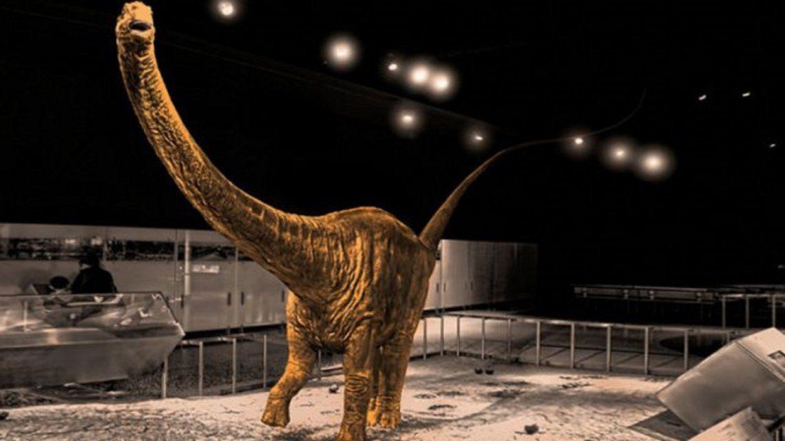Descubrieron en Mendoza restos del dinosaurio más grande del  mundo