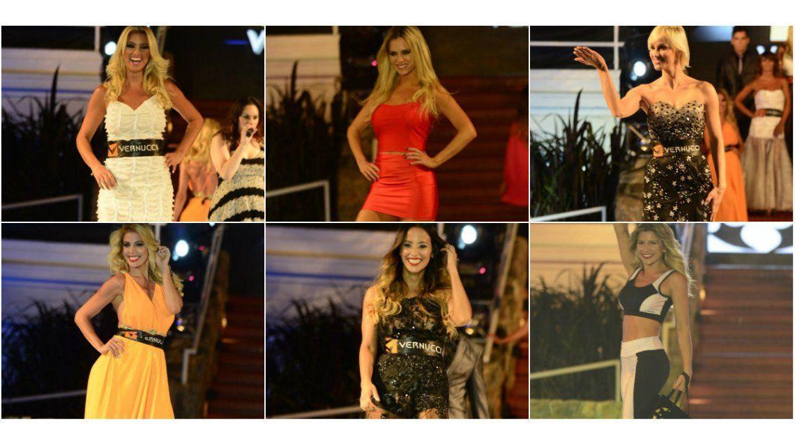 Carlos Paz: mirá todos los looks del desfile de los Vernucci