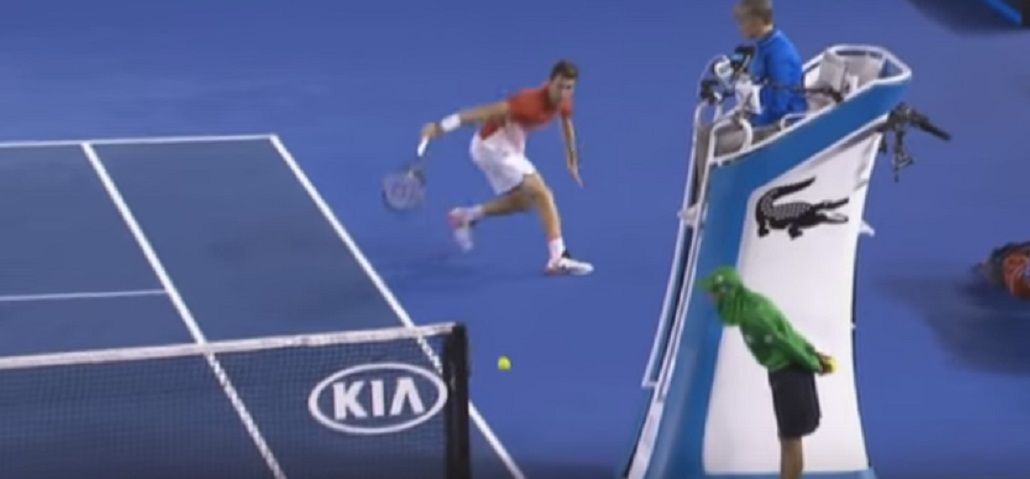 Este joven perdió con Djokovic, pero dejó una jugada para el recuerdo