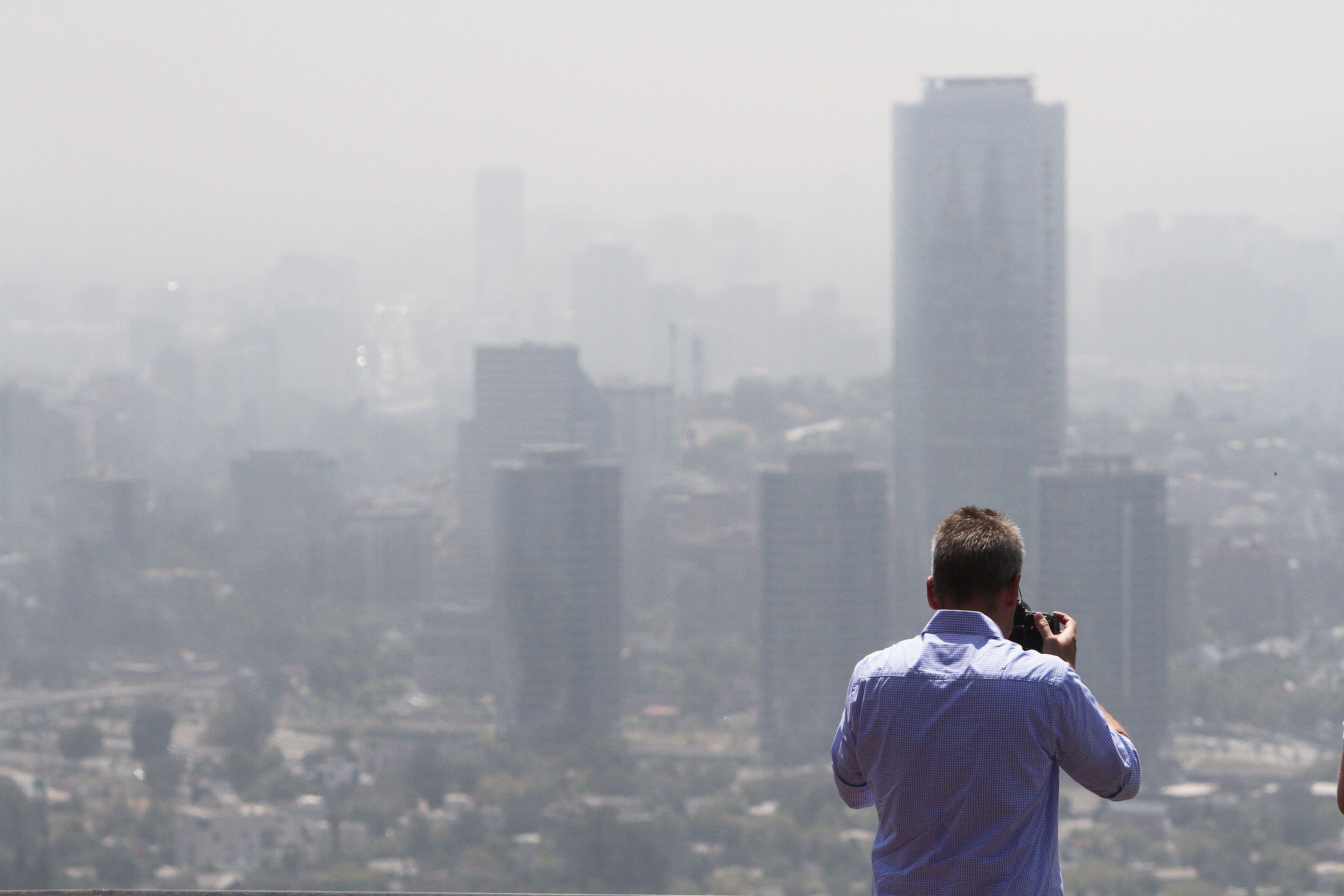 Alarmante: 9 de cada 10 personas respiran aire contaminado