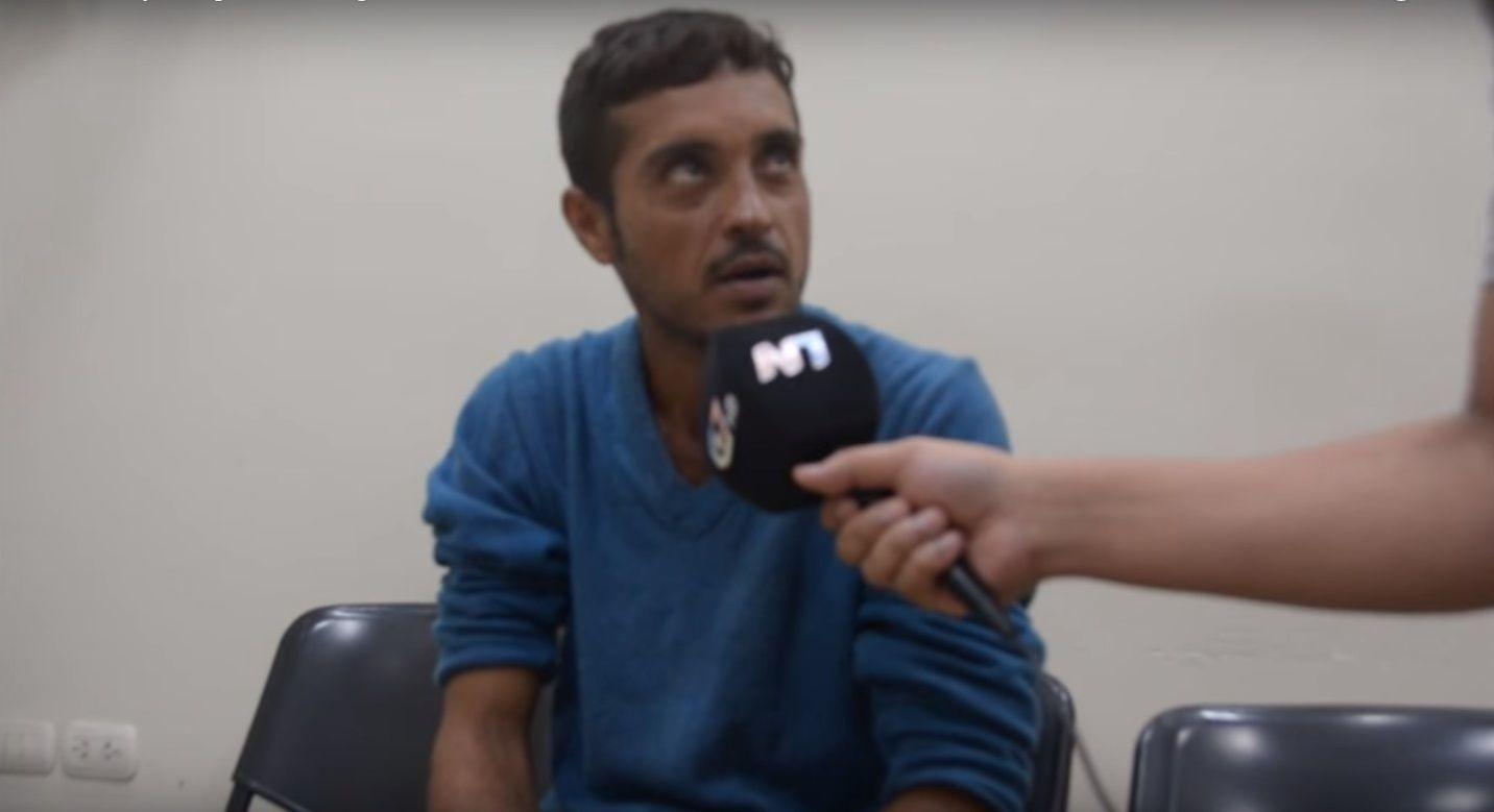 Estaba prófugo en Brasil y se entregó en un canal de televisión argentino