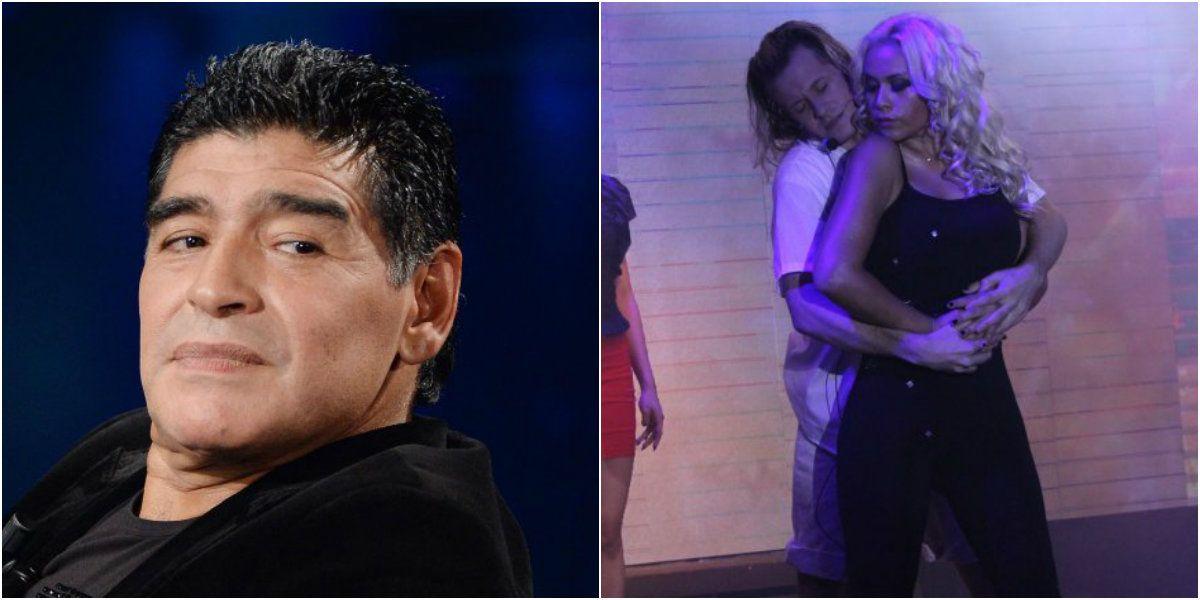 Diego Maradona quiere bajar a Verónica Ojeda del teatro