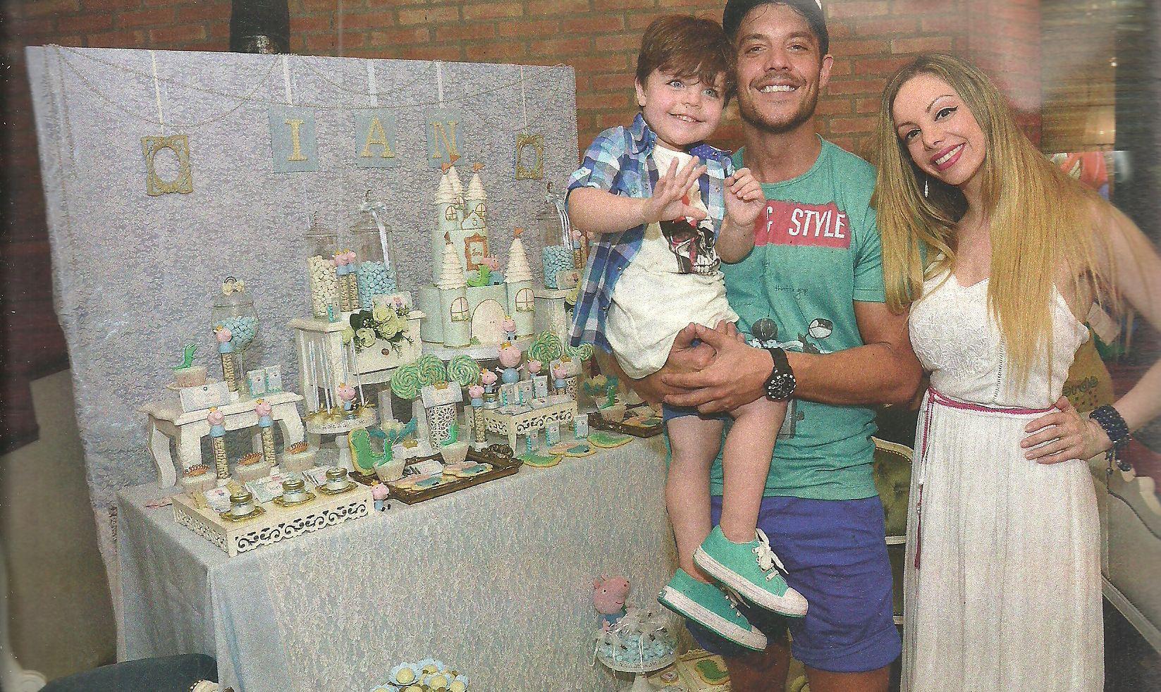 Mirá las fotos del primer cumpleaños del hijo de Gisela Bernal en familia