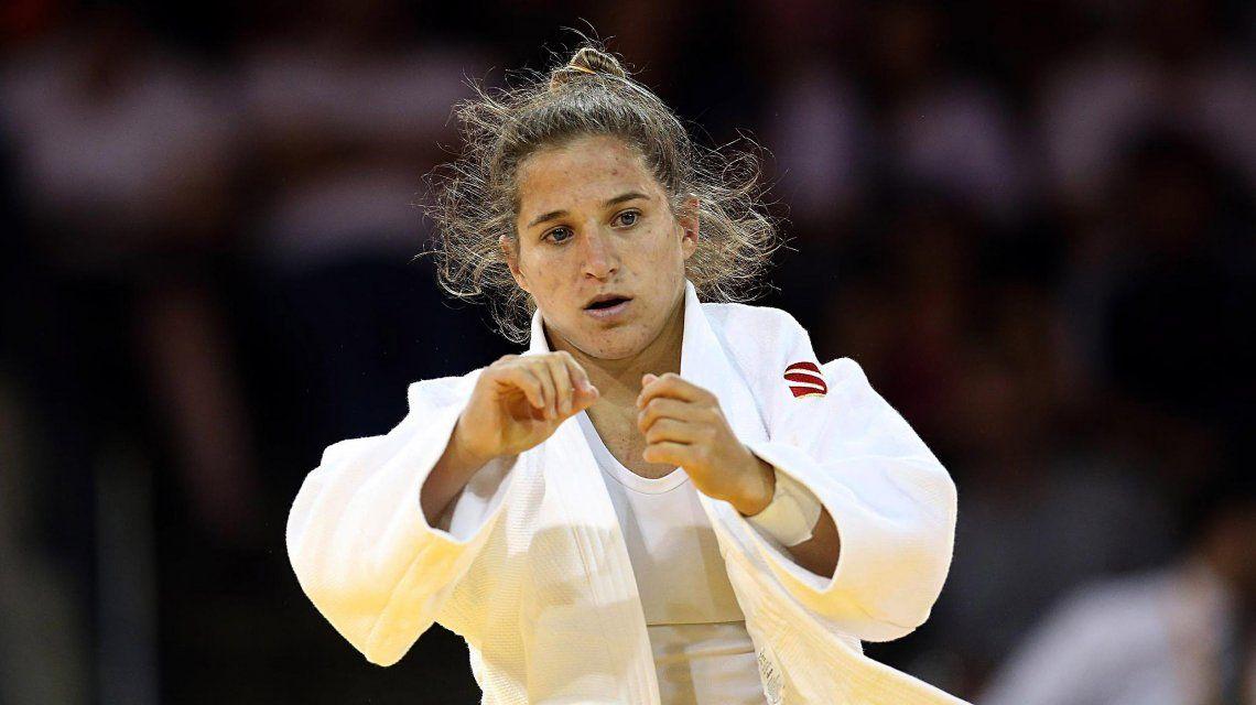 Pareto ganó la medalla de bronce en el Grand Prix de Judo