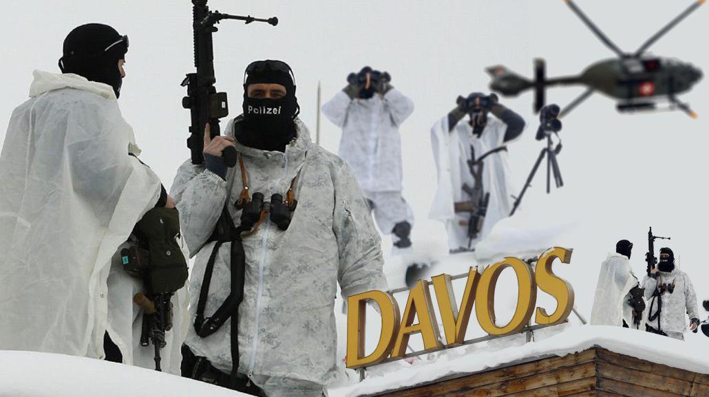 Impresionante operativo de seguridad en Davos para proteger a líderes mundiales