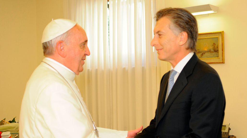 Macri se reunirá con el papa Francisco este año