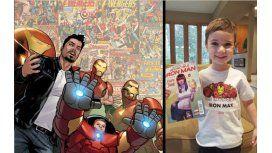 Tiene 5 años y se convirtió en superhéroe