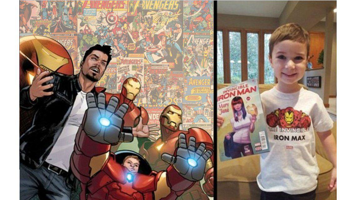 Tiene 5 años y se convirtió en superhéroe para luchar contra la hemofilia