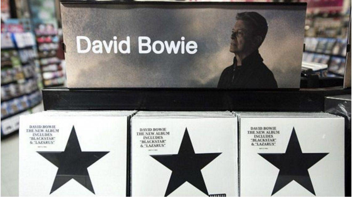 Consagración post mortem: por primera vez, Bowie es número uno