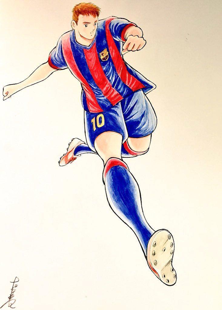 El creador de Los Supercampeones y su homenaje a Lionel Messi