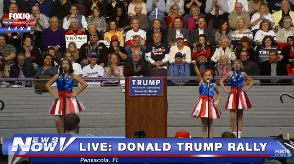 Donald Trump presentó el himno de su campaña: El llamado de la libertad
